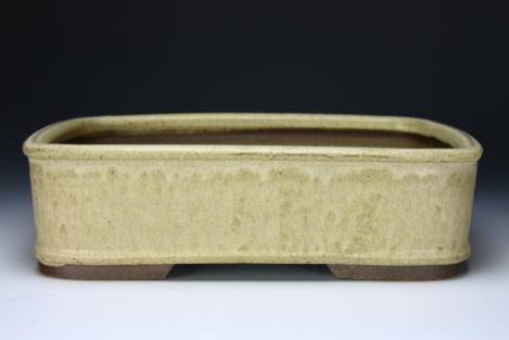 "25,5 cm x 19,5 / 10 x 7.7"" Bonsai Pot Roman Husmann 6650"